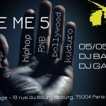 "Restransmission en direct soirée ""Give me 5"""
