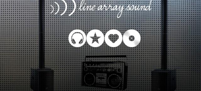 musique, son et line array